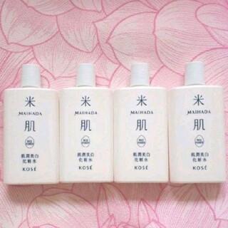 コーセー(KOSE)の★肌潤美白化粧水★4本★米肌★コーセー★日本製★(化粧水/ローション)