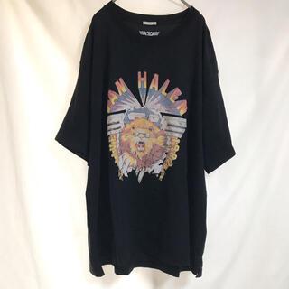 GU - 古着 GU ヴァン・ヘイレン ロックTシャツ XLサイズ