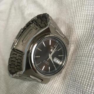 セイコー(SEIKO)のセイコー セイコー5 自動巻アナログ腕時計 文字盤ブラウン(腕時計(アナログ))