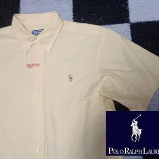 ポロラルフローレン(POLO RALPH LAUREN)の【ラルフローレン】半袖BDシャツ170cm(909)イエローオックスフォード(シャツ)