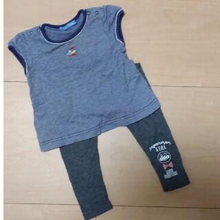 ファミリア(familiar)のファミリアfamiliar90トップスブラウスミキハウスBEAMS保育園幼稚園に(Tシャツ/カットソー)