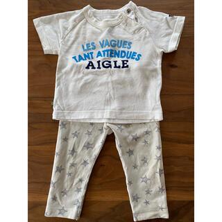 エーグル(AIGLE)のエーグルTシャツ&ユニクロズボン(Tシャツ)