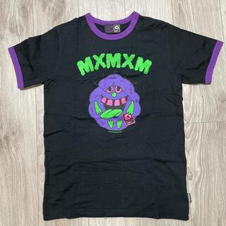 マジカルモッシュミスフィッツ(MAGICAL MOSH MISFITS)の【値下げ】MxMxM マモミ かわいくないちゃんリンガーTEE Tシャツ(Tシャツ/カットソー(半袖/袖なし))