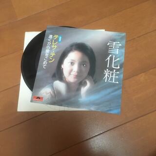 テレサテン 雪化粧 シングルレコード(演歌)