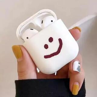 アップル(Apple)の韓国 雑貨 ニコちゃん スマイリー airpods エアポッズ ケース カバー(その他)