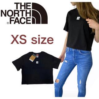 THE NORTH FACE - ノースフェイス Tシャツ セントラル クロップド丈 半袖 レディース 黒 XS