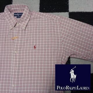 ラルフローレン(Ralph Lauren)の【ラルフローレン】半袖BDシャツ海外S(267)ポロ日本のL程度(シャツ)