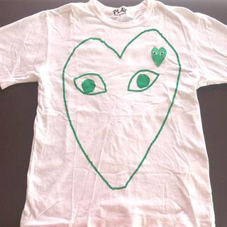 コムデギャルソン(COMME des GARCONS)の【美品】コムデギャルソン PLAY Tシャツ(Tシャツ(半袖/袖なし))