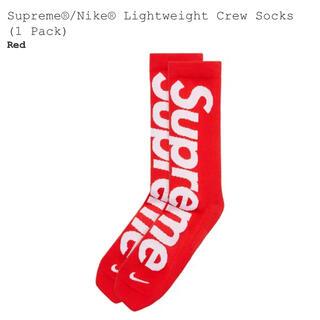 Supreme - 【新品】supreme socks シュプリーム  ナイキ ソックス 靴下