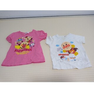 アンパンマン Tシャツ 2点セット 100サイズ110サイズ