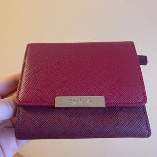 agnes b. - アニエスベー 三つ折財布