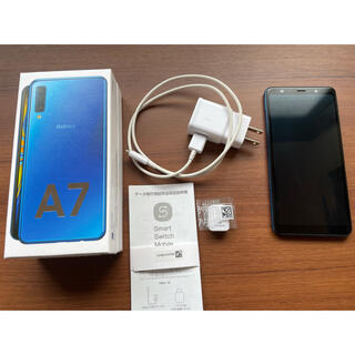 Galaxy - Galaxy A7 ブルー 64G 楽天モバイル対応 simフリースマートフォン