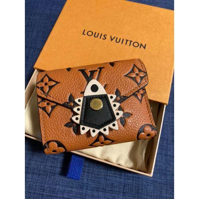 LOUIS VUITTON(ルイヴィトン)の新品未使用ルイヴィトン クラフティ☆コンパクト財布 ポルトフォイユ ゾエ レディースのファッション小物(財布)の商品写真