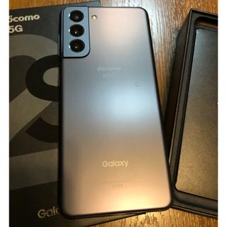 Galaxy - 【最終値下げ】Galaxy S21 ファントムグレー SC51B