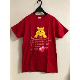 クマノプーサン(くまのプーさん)の【USA製】プーさん♡Tシャツ pooh ディズニー Sサイズ(Tシャツ(半袖/袖なし))