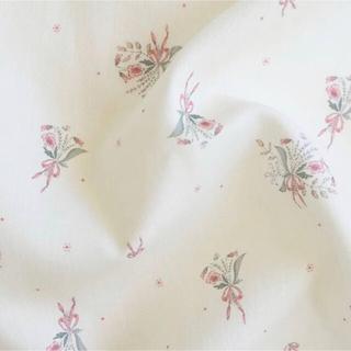 ボンポワン(Bonpoint)のSous le figuier fabrics ポンパドール 生地幅×50 (生地/糸)