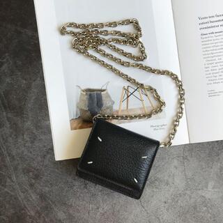 Maison Martin Margiela - メゾンマルジェラ財布 ブラック ショルダーバッグ