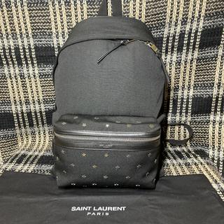 Saint Laurent - 極美品!!サンローランパリ★スタースタッズ★シティーバックパック
