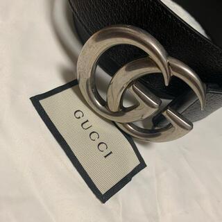 Gucci - GUCCI レザーベルト(ダブルG バックル)