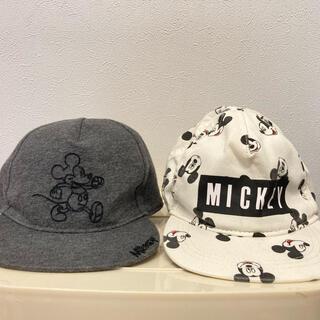H&M - 【値下げ‼】キャップ H&M ミッキーマウス 帽子