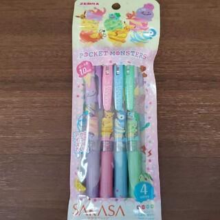 ポケモン(ポケモン)のSARASA サラサボールペン ポケモン 4色セットB(ペン/マーカー)