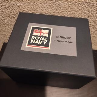 G-SHOCK - G-SHOCK MASTER OF G FROGMAN ROYAL NAVY新品