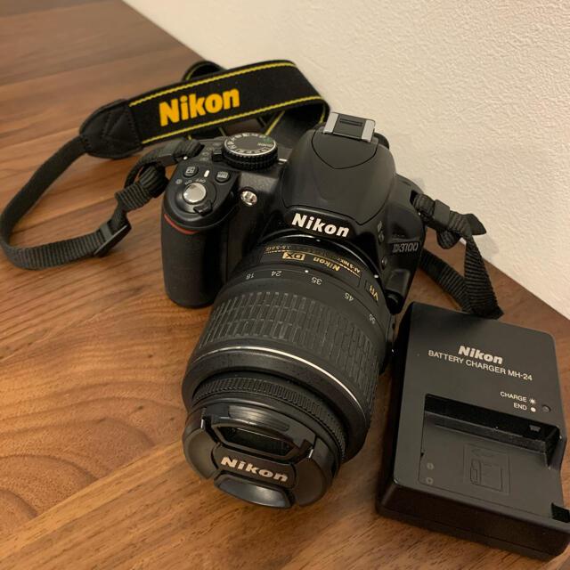 Nikon(ニコン)のNikon D3100 デジタル一眼レフカメラ 18-55mm スマホ/家電/カメラのカメラ(デジタル一眼)の商品写真