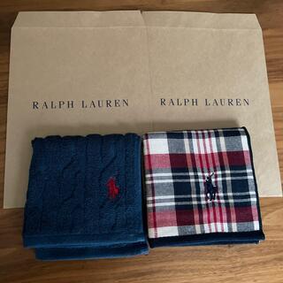 POLO RALPH LAUREN - ポロ ラルフローレン ミニタオル 2枚セット 新品 未使用品
