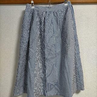 パーリッシィ(PAR ICI)のパーリッシィ パッチワークスカート(ロングスカート)