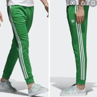 アディダス(adidas)のadidas★アディダス★グリーンジャージ★緑★スリーライン★トレフォイル(その他)