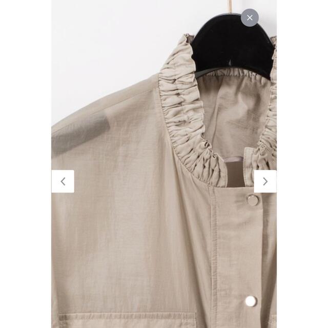 GRACE CONTINENTAL(グレースコンチネンタル)のグレースコンチネンタル パフスリーブブルゾン レディースのジャケット/アウター(ブルゾン)の商品写真