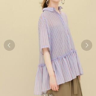ケービーエフ(KBF)のKBF シアーシャツ(シャツ/ブラウス(半袖/袖なし))