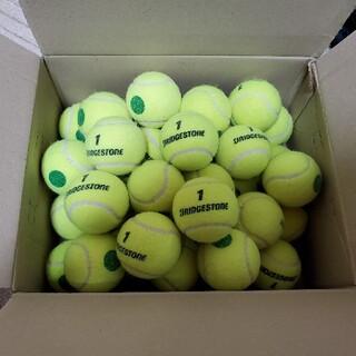 ブリヂストン(BRIDGESTONE)の(中古)テニスボール グリーンボール 36球 ジュニア キッズ用(ボール)