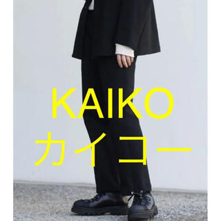 ジエダ(Jieda)のKAIKO SWEAT TRAINING PANTS カイコー パンツ Lサイズ(スラックス)