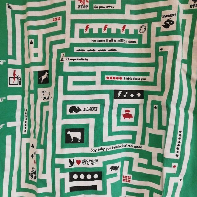 Graniph(グラニフ)の【graniph】迷路Tシャツ レディースのトップス(Tシャツ(半袖/袖なし))の商品写真