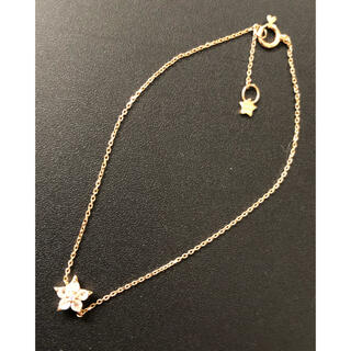 STAR JEWELRY - スタージュエリー ダイヤモンド0.05 ムーンストーン K10 ブレスレット