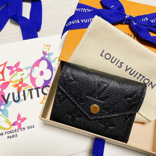 LOUIS VUITTON -  美品 ルイヴィトン ポルトフォイユ ゾエ コンパクト