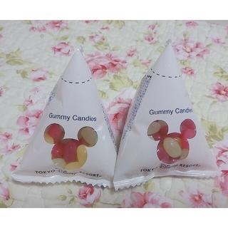 ディズニー(Disney)のディズニー ミッキー グミ お菓子 グミキャンディ スナックケース(菓子/デザート)