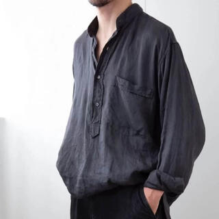 21ss comoli ベタシャンプルオーバーシャツ