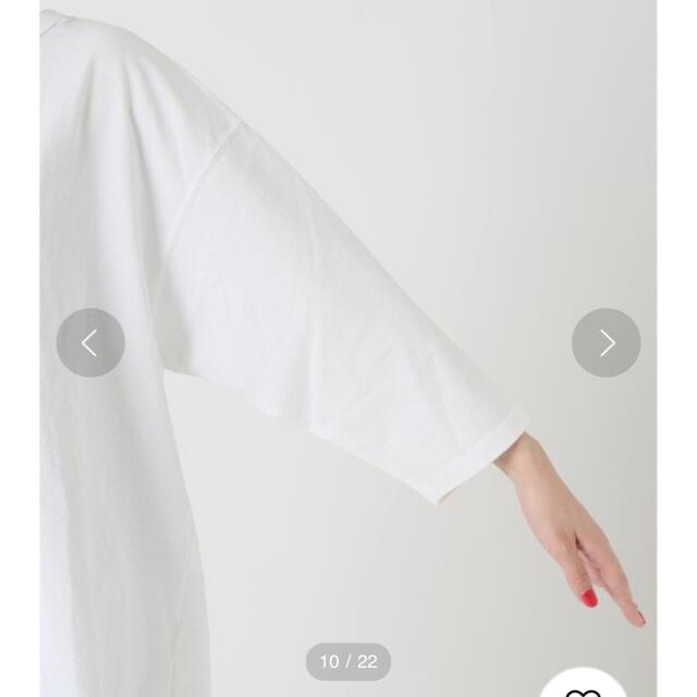 Plage(プラージュ)の【JANE SMITH×CALUX×Plage】BACK OPEN プルオーバー レディースのトップス(カットソー(長袖/七分))の商品写真