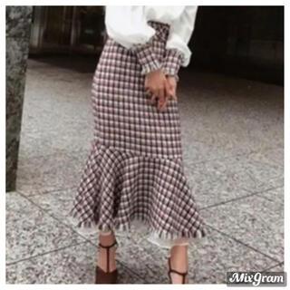eimy istoire - ツイードマーメイドスカート♡eimy istoire