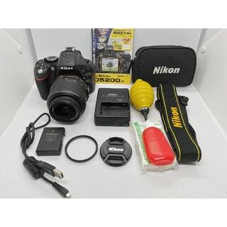 Nikon - ⭐美品!⭐人気のニコン一眼レフ⭐Nikon D5200 ズームレンズキット