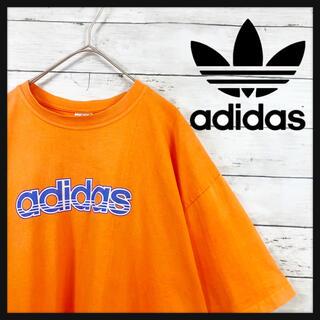adidas - 80〜90年代ビンテージアディダス パステルオレンジカラー 超ビックサイズxxl