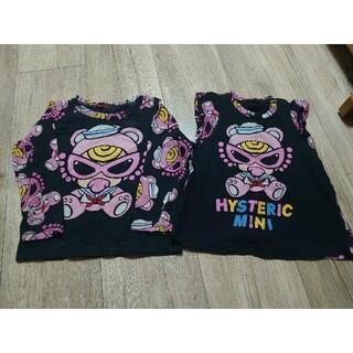 ヒステリックミニ(HYSTERIC MINI)のヒスミニ チュニック キラミニ セーラー Tシャツ アースマジック ベビードール(Tシャツ/カットソー)