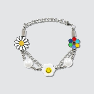 OFF-WHITE - salute smile flower amarchy ブレスレット1
