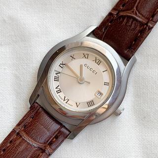 グッチ(Gucci)の【稼働品】美品 GUCCI◆5500L レディースウォッチ(腕時計)