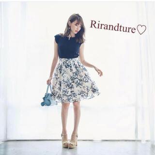 Rirandture - 5/12までお値下げ♡リランドチュール♡チェスティ♡花柄♡オーガンジー♡ワンピ