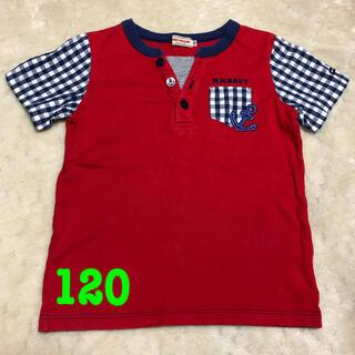 mikihouse - ミキハウス マリン Tシャツ 赤 120cm