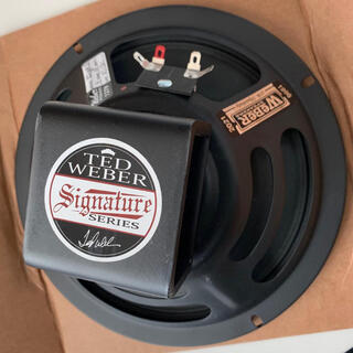 WEBER SPEAKER Alnico Signature 8S 4Ω 新品(ギターアンプ)
