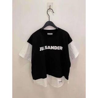 ジルサンダー(Jil Sander)の新シーズン Jil Sander  21ss  はぎ  Tシャツ (Tシャツ(半袖/袖なし))